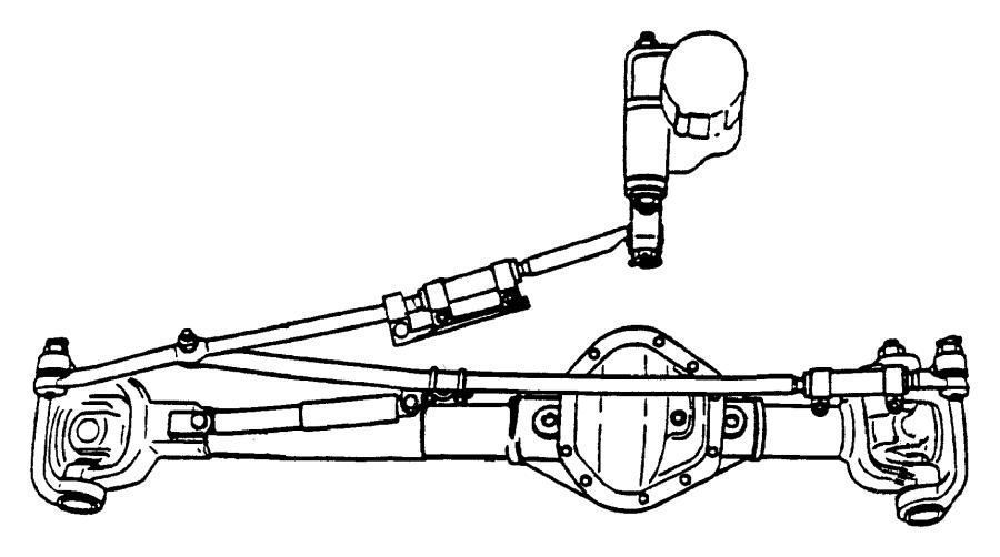Dodge Ram 2500 Steering Tie Rod End Adjusting Sleeve