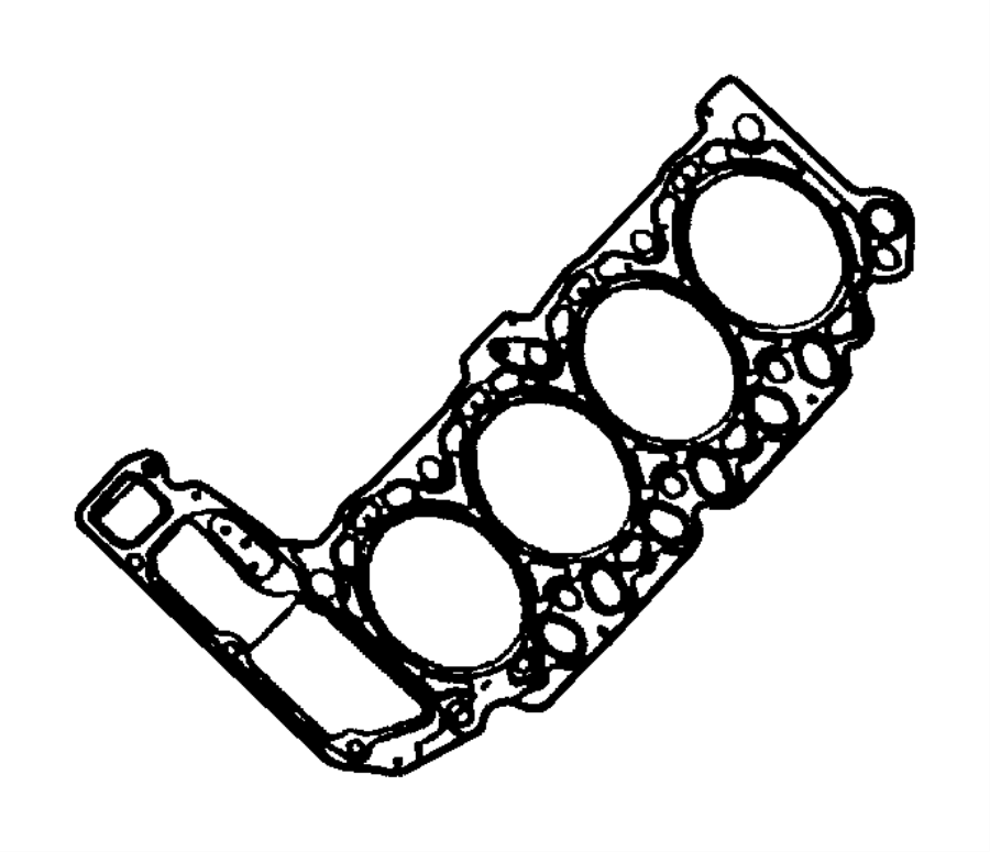 Dodge Durango Engine Cylinder Head Gasket  Aspen