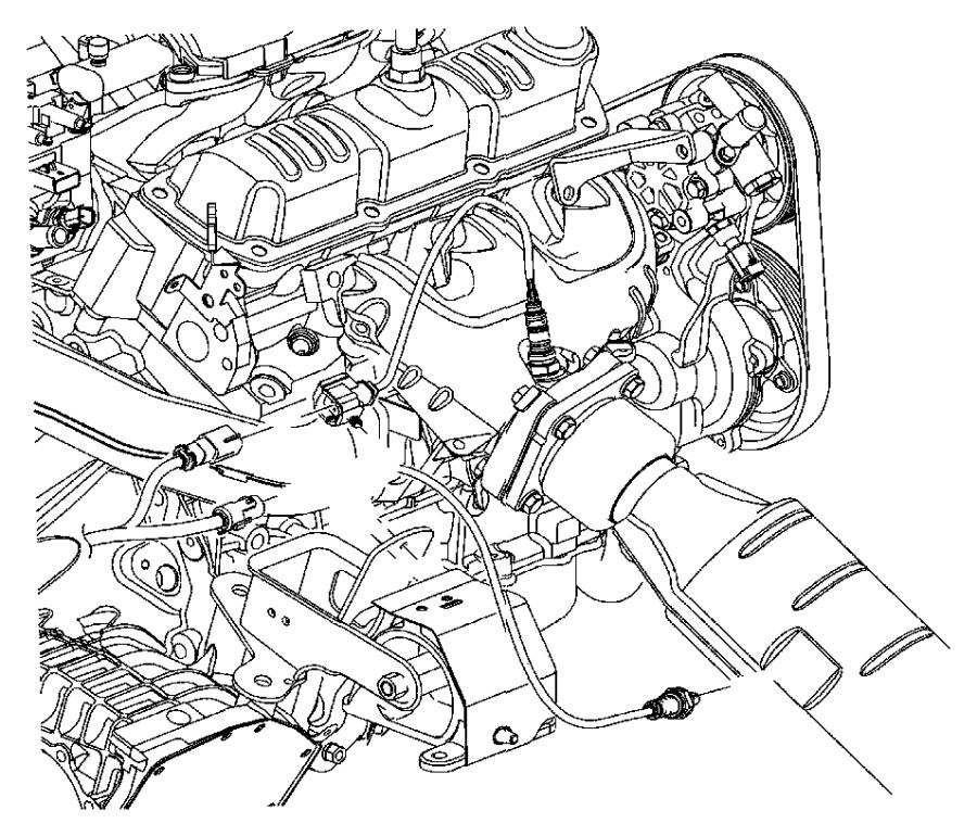 Chrysler Town  U0026 Country Oxygen Sensor  Front