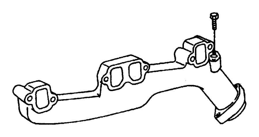 Jeep Grand Cherokee Engine Intake Manifold. LITER, EGR ...