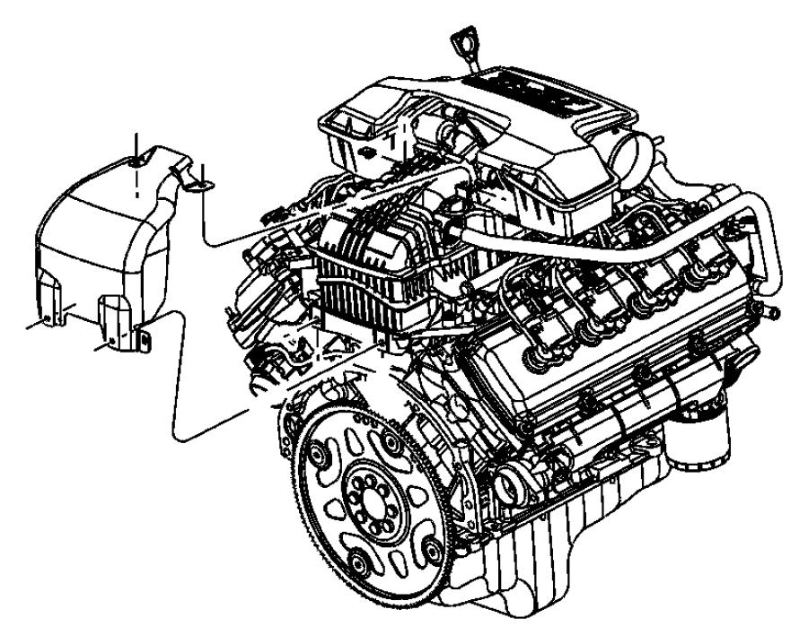 Chrysler Aspen Engine Oil Pan