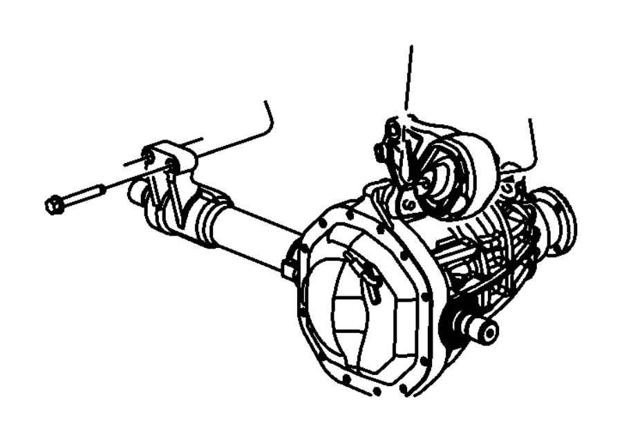 Chrysler Aspen Engine Mount  Right  Liter  Front