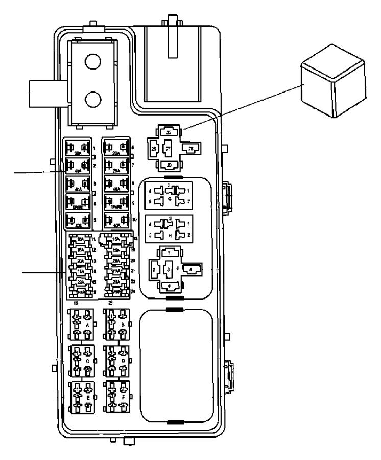 Jeep Compass Fuse Box  Under Hood  Module  Telematics