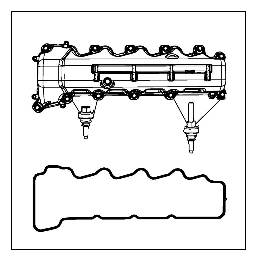 Chrysler Aspen Engine Valve Cover