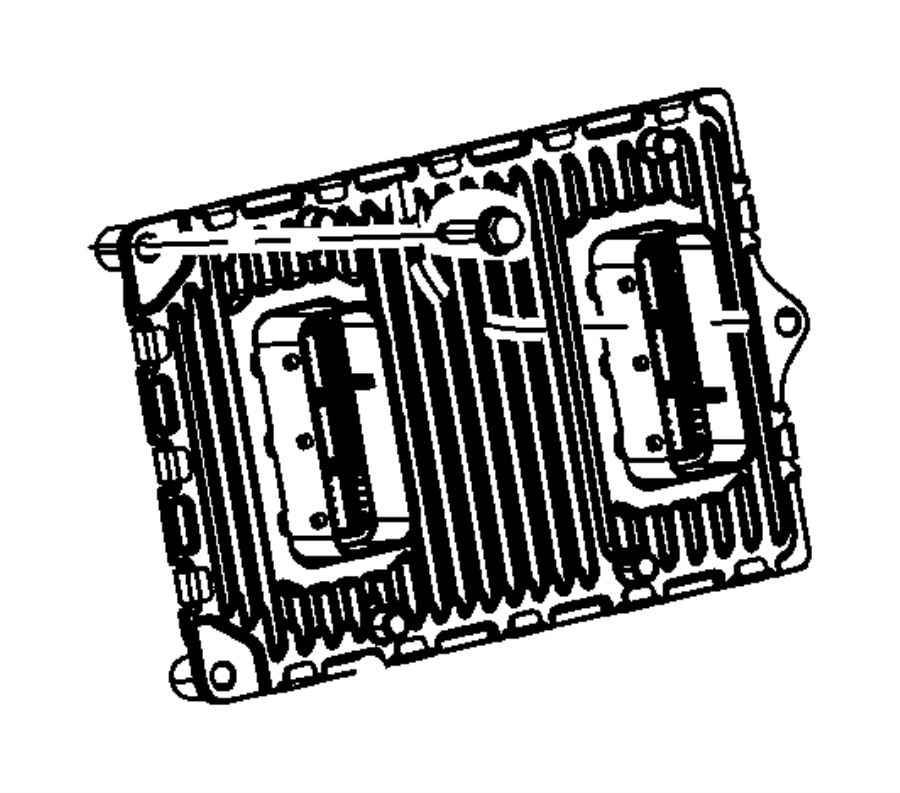 Dodge Grand Caravan Engine Control Module - 5150657AA ...