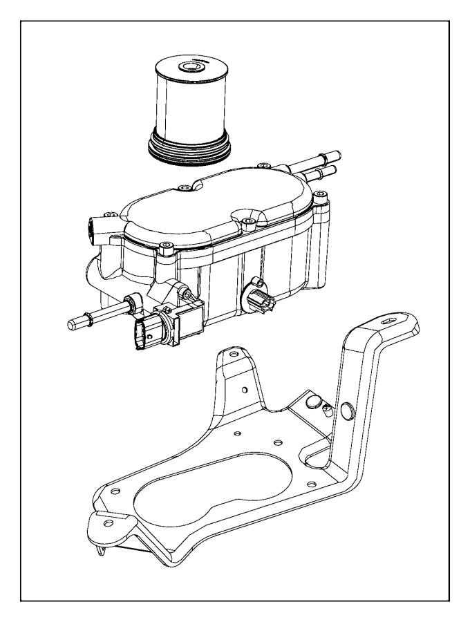 jeep grand cherokee filter  fuel  water separator  diesel
