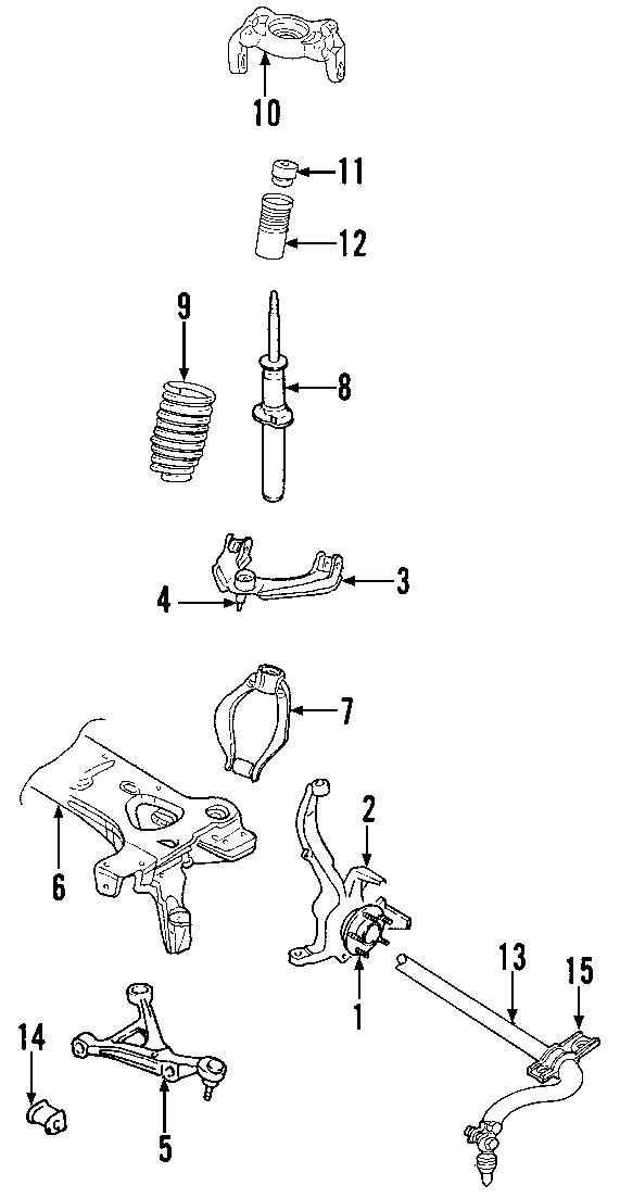 Dodge Stratus Suspension Control Arm  Left  Causing  Arms
