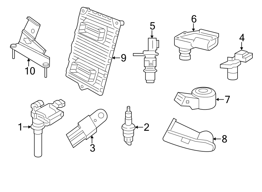 Chrysler 300 Engine Camshaft Position Sensor - 5149054AC ...