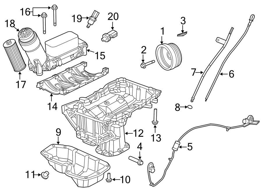 Dodge Grand Caravan Engine Intake Manifold Bolt. 3.6 LITER ...