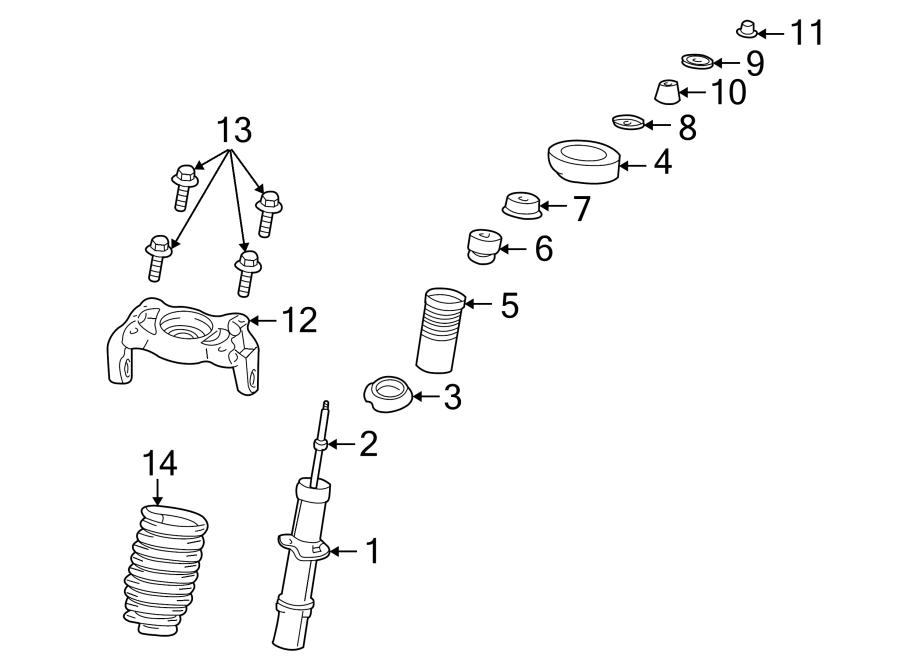 Dodge Stratus Coil Spring Insulator  Lower  Suspension