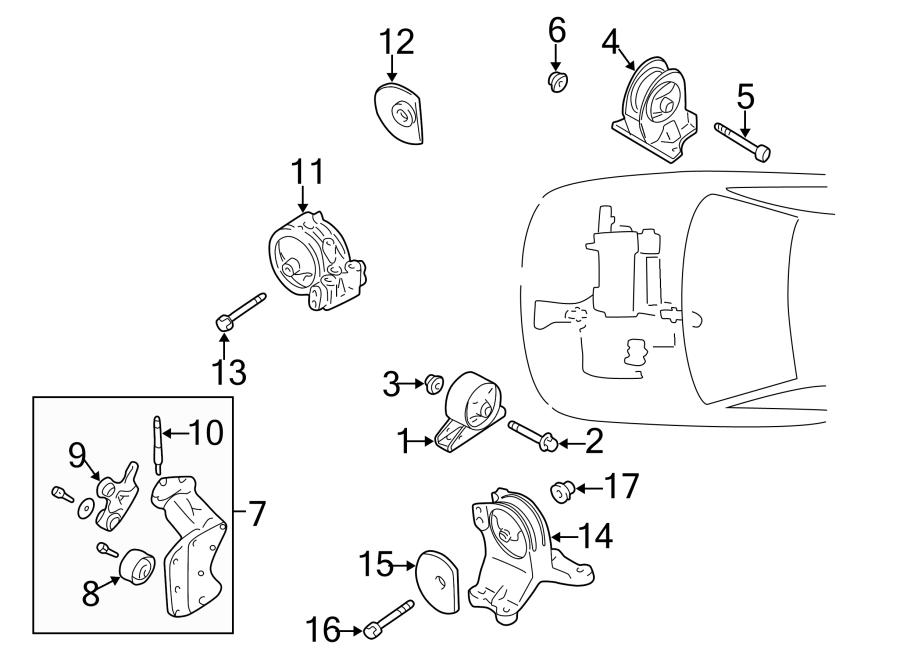 Dodge Stratus Engine Timing Belt Idler  Liter  Bearings