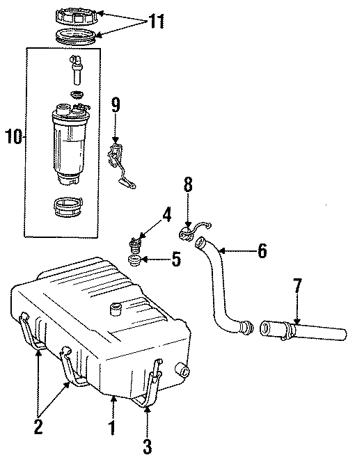 Dodge B150 Fuel Tank Cap  Locking  Engine  Gas