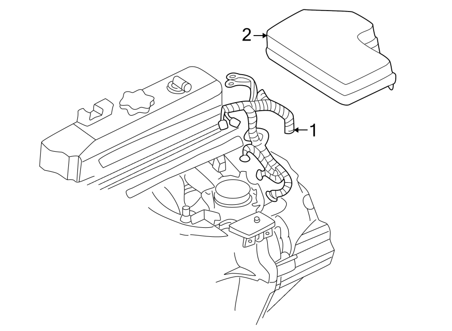Dodge Dakota Fuse Box Cover (Upper). Upper - 56045152AA ...