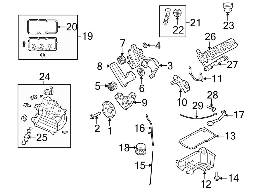 Dodge Nitro Engine Timing Belt  Liter  Replaced  Bearings