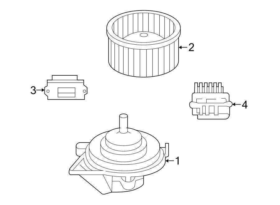 Chrysler Aspen Module  Control  Hvac