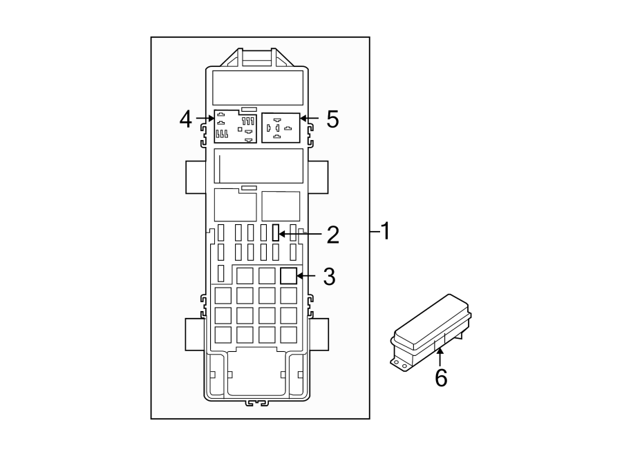 Jeep Wrangler Relay  Engine Compartment  Passenger Compartment  Mini  Pcm  Wrangler