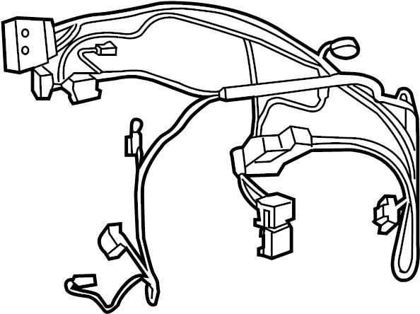 Chrysler 200 Hvac System Wiring Harness  All